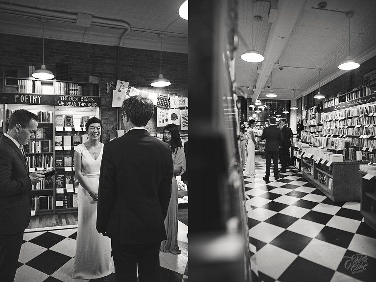 Ester Cobe Photography, Ann Arbor and Detroit Wedding Photographer, Intimate wedding, candid photographer, Winter Wedding, Literati Bookstore, Downtown Ann Arbor