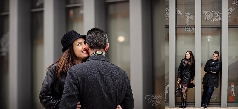 Ester Cobe Photography, Ann Arbor and Detroit Wedding Photographer, Winter Engagement shoot, University Of Michigan, candid photographer, Summer Wedding, December Engagement, Campus engagement