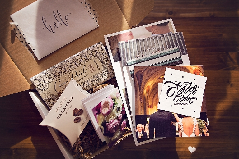 Wedding Welcome Package, Ann Arbor Wedding, Detroit Photographer