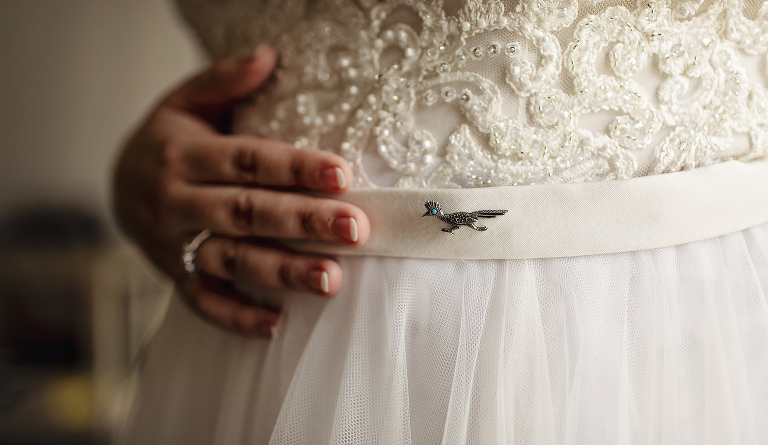 Bridal Dress Detail, Adding Heirloom Items to your Wedding Day, Bridal Portraits