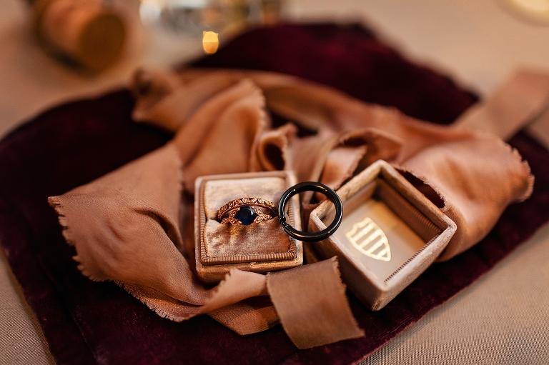 Mrs. Box, Wedding Ring, Detroit Editorial Wedding Photographer