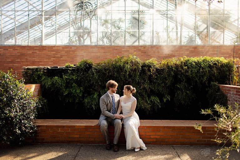 Winter Matthaei Botanical Engagement Session