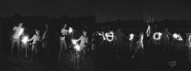 Sparkler Photographs, How to photograph 4th of July, Michigan Lifestyle Photographer, Photo Challenge
