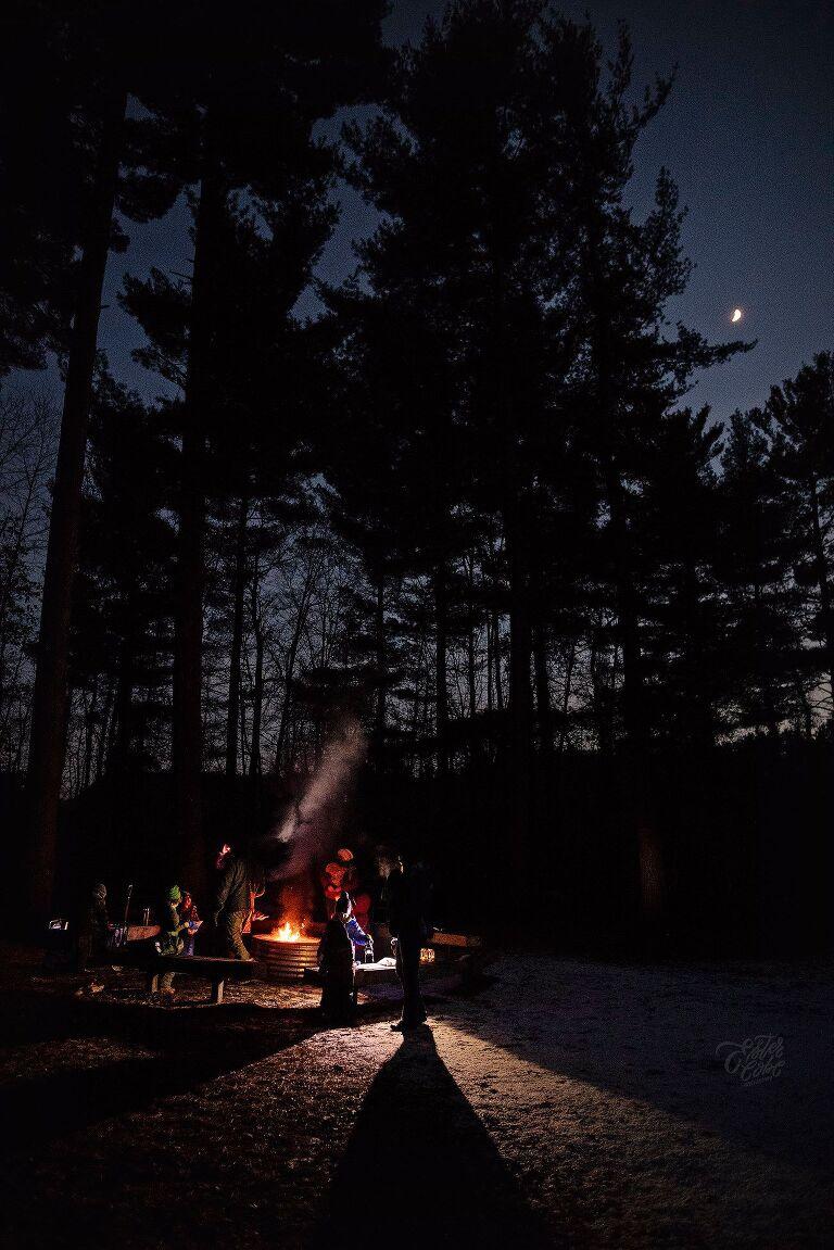 Michigan documentary Photographer, Candid Photographs of Christmas, Tips on photography, Documenting life, Lifestyle photography, Michigan family photographer, Night Hike Photos